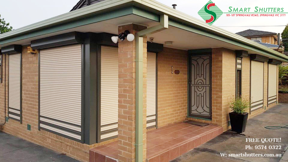 Window roller shutters in Dandenong
